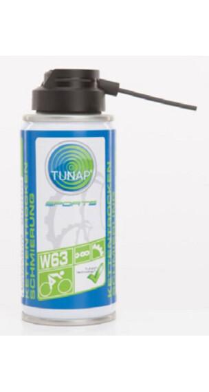 Tunap W63 ketting smeermiddel 100 ml blauw/wit